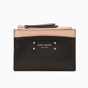 kate spade♠️small zip card holder NWT
